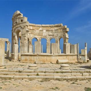 Ruins in Libya