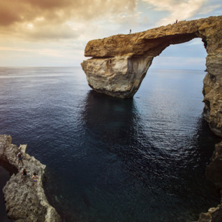 The Azure Window in Gozo
