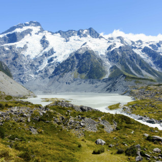 Mount Cook Snow
