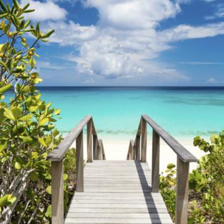 Aman Villa beach