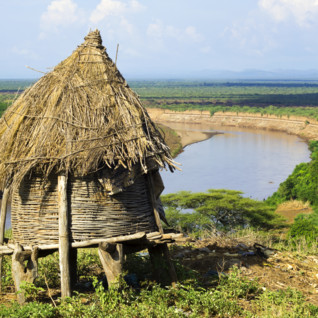 A Harmer Hut in South Ethiopia