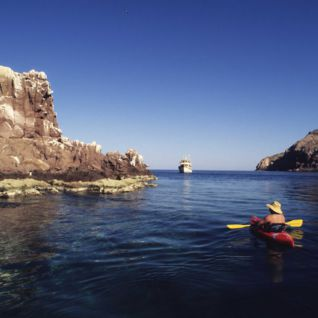 Sea Kayaking, Mexico