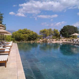 Swimming Pool at the Amanzoe