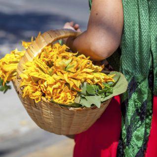 Flowers in Oaxaca
