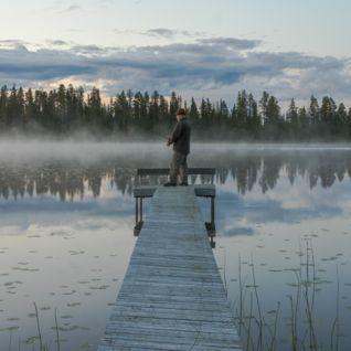 Summer Fishing, Swedish Lapland