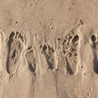 Footprints in the Sand, Europe