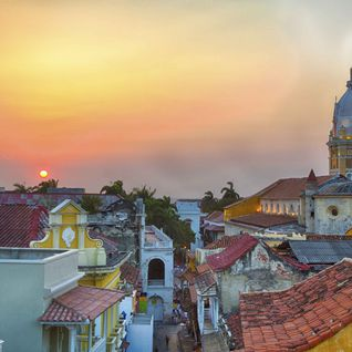 Rooftop View of Cartagena
