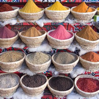 Egyptian spice market