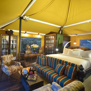 tent bedroom