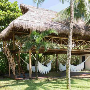 Hotel Esencia yoga palapa gardens