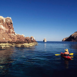 Baja California kayaking