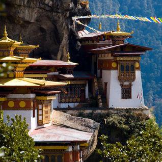 Tiger nest monastery in Bhutan