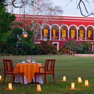 Private dining at Hacienda Temozon