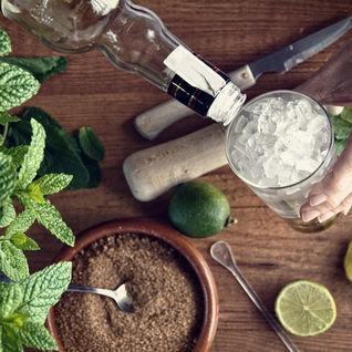 making a mojito
