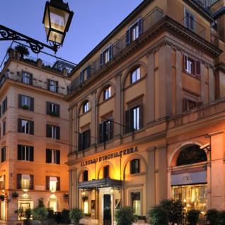 D'Inghilterra hotel, luxury hotel in Rome, Italy