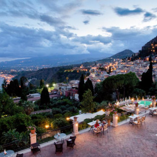 Grand Hotel Timeo, luxury hotel in Italy