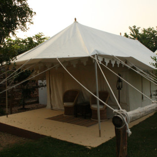 Ramathra Fort, luxury tents in India