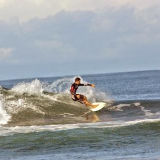 Surfing the Nicoya Peninsula