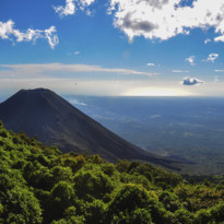 View across Largecerro Verde National Park