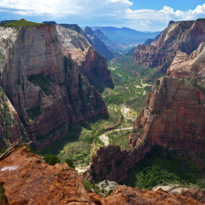View Across Zion National Park