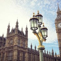 A view of Parliament and Big Ben, England