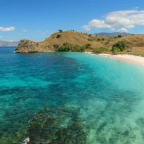 Komodo Island Beach view