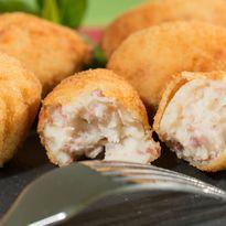 Spanish ham croquetas