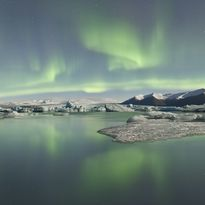Aruora in Iceland's night sky