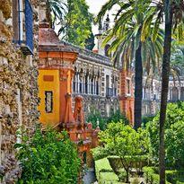 alcazar gardens, Seville