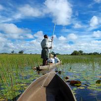 boating safari in botswana