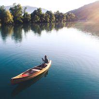 boat river canoe