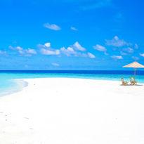 Maldives sandbank