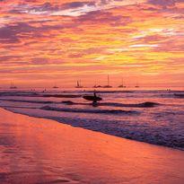 Papagayo sunset