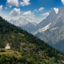 Svaneti region in Georgia