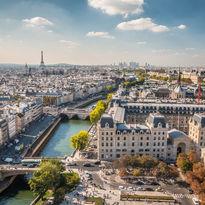 Panoramic view of Paris