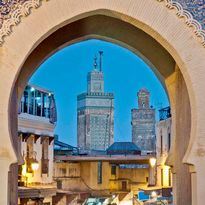 Fez archway