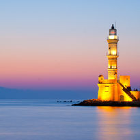 Chania lighthouse, Crete