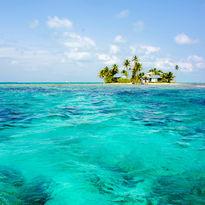 The Belizean coast