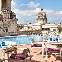 Rooftop bar views