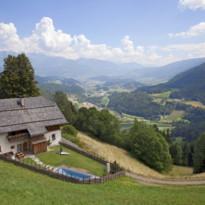 Panoramic view  at San Lorenzo Mountain Lodge