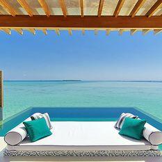 Niyama hotel beach view studio