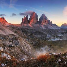 Dolomites landscape