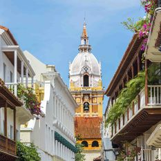 cartagena colourful streets