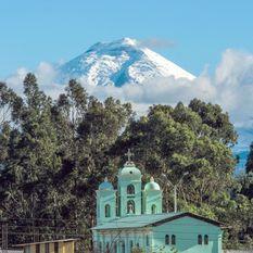 cotopaxi volcano san jalomo church