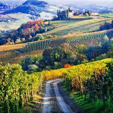 italian countryside road