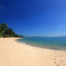 Thailand sandy beach