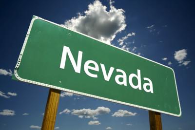 Nevada Roadsign