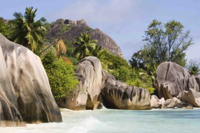 beach of the seychelles