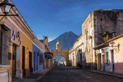 Antigua City, St Catarina's arc
