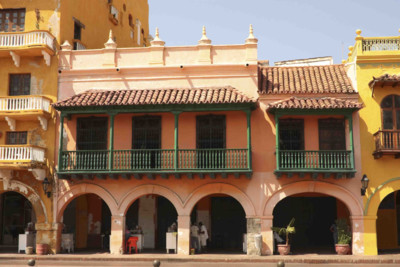 Cartagena colombia archways